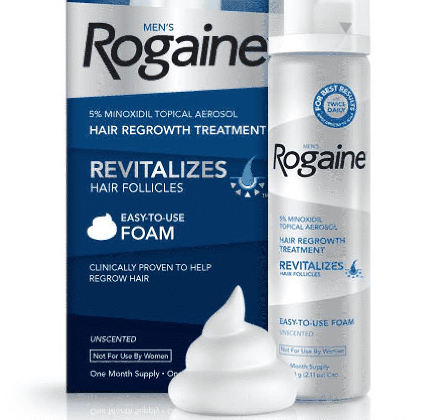 Rogaine Foam
