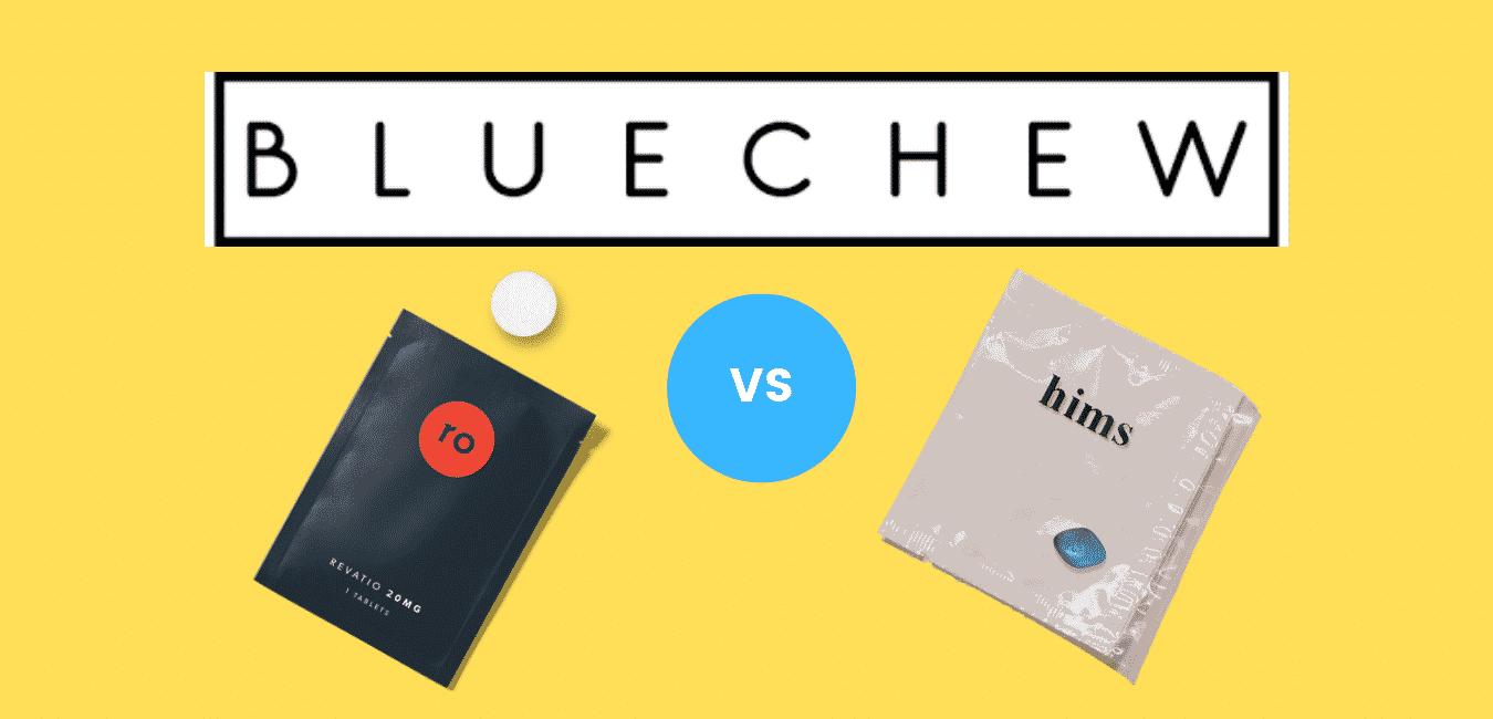 Blue Chew vs Roman vs Hims: ED Subscriptions Compared
