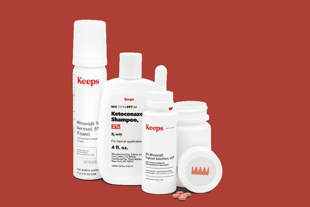 Keeps hair health products