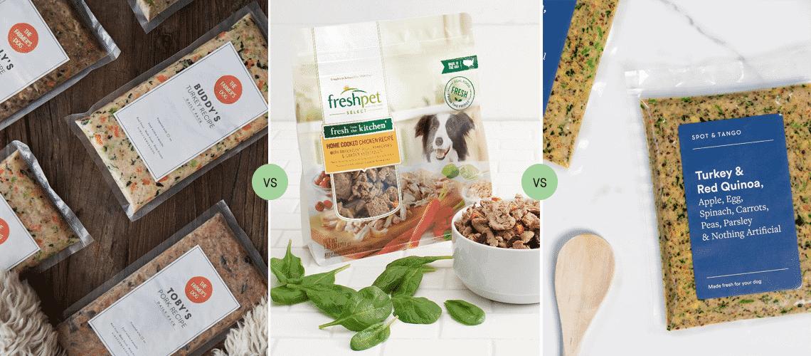 The Farmer's Dog vs Freshpet vs Spot & Tango: Which fresh food is best for pups?