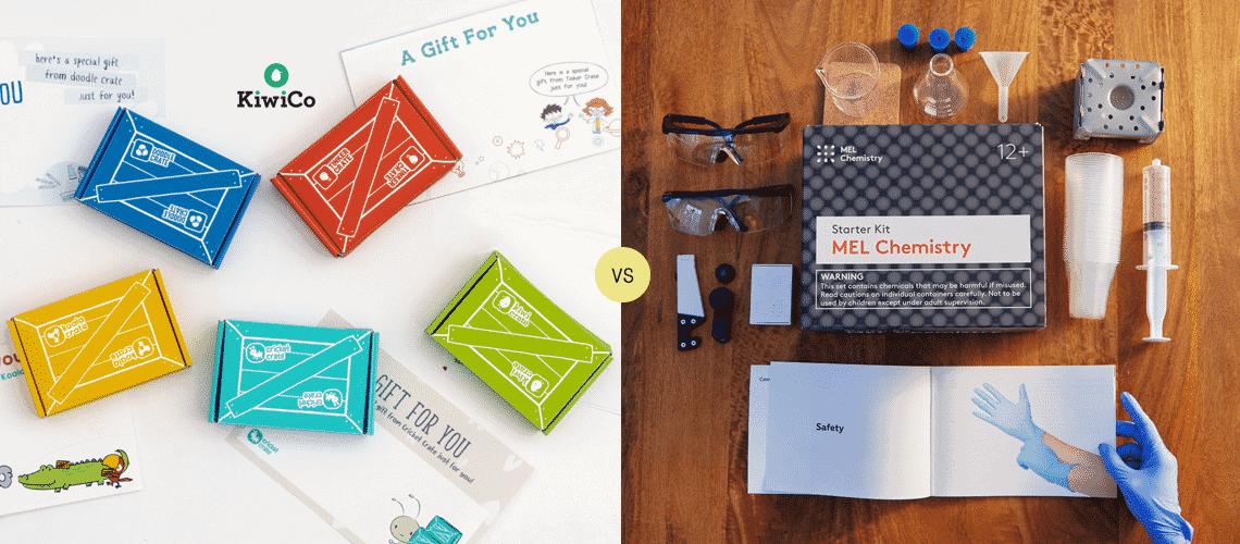 KiwiCo vs MEL Science: What's the best science box for kids?