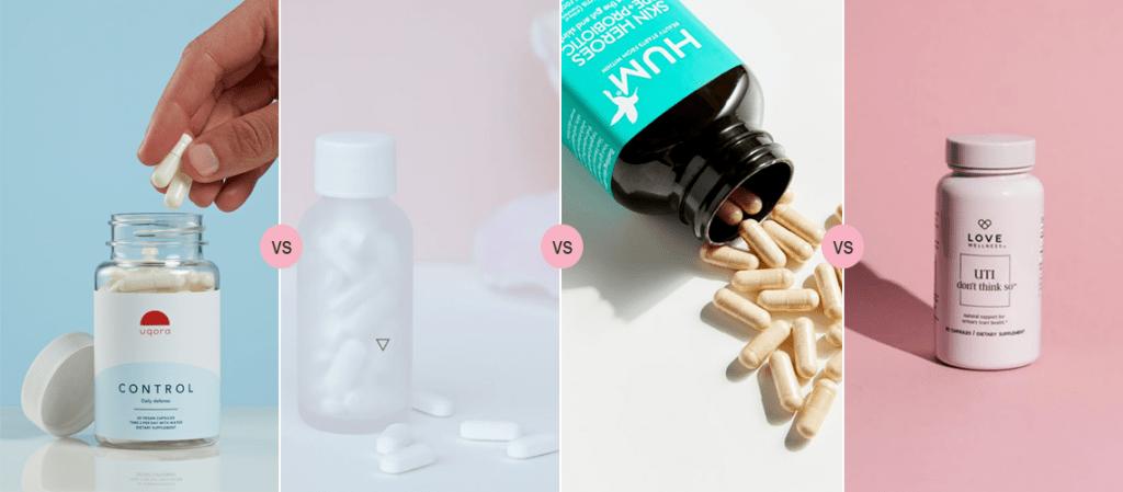 Uqora vs Wisp vs HUM vs Love Wellness - Best UTI Prevention Pills