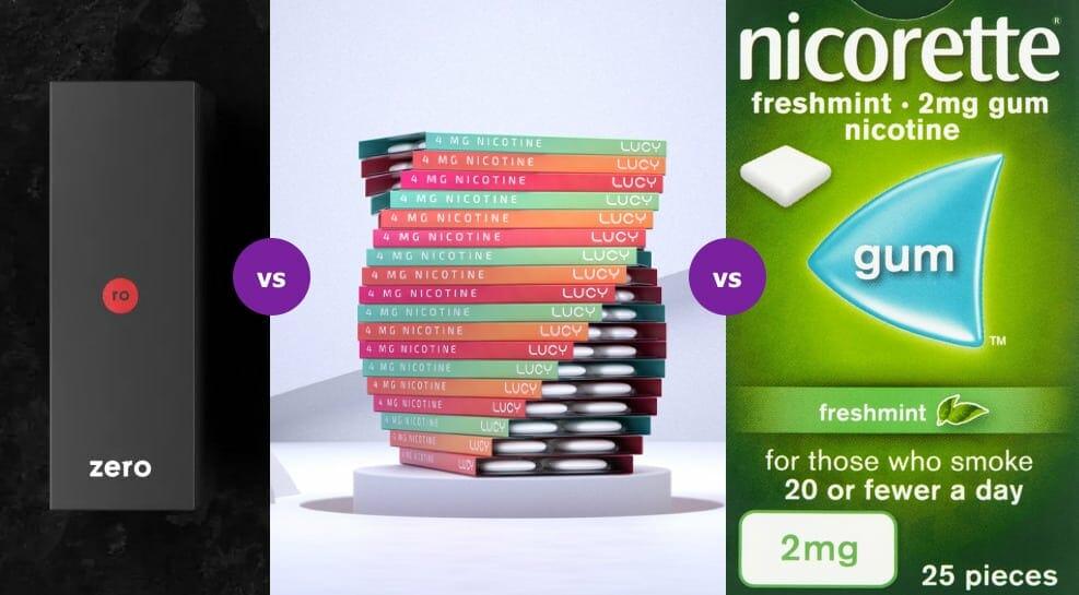 Zero vs Lucy vs Nicorette: What's the Best Way to Quit Smoking?