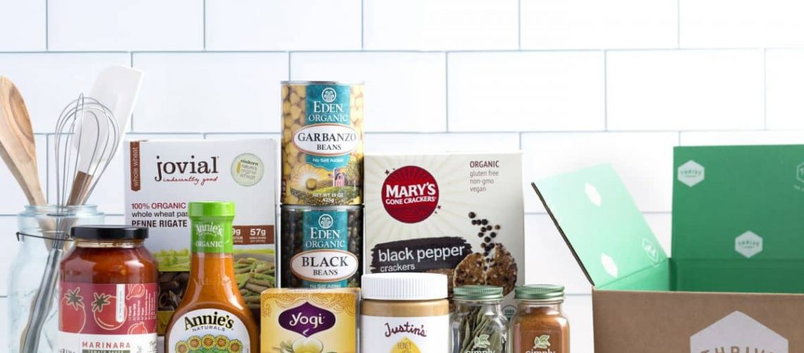 Thrive Market online organic subscription box vs The Honest Company and Brandless
