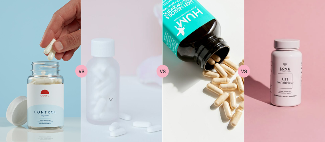 Uqora vs Wisp vs HUM vs Love Wellness - Best UTI Prevention Pills
